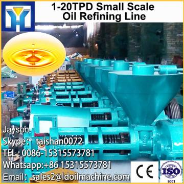 Complete cylinder pressing hydraulic type mustard seed edible oil production line for sale with CE approved