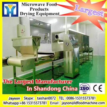 Tunnel conveyor belt type microwave roasting machine for peanuts