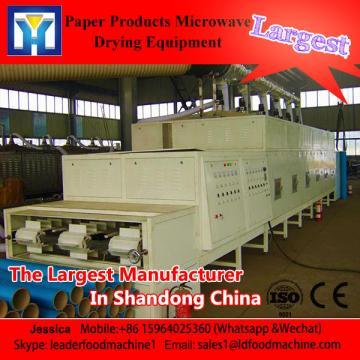 Commercial tunnel microwave belt type shrimp dryer