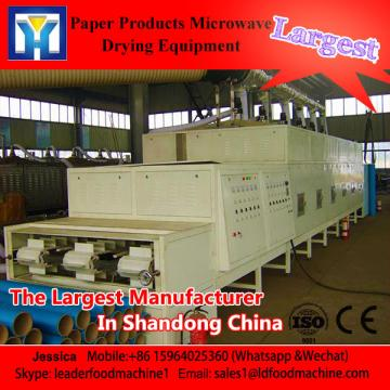 Microwave bamboo shoot dry sterilization Device