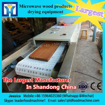 Medical herbs drying / industrial microwave oven