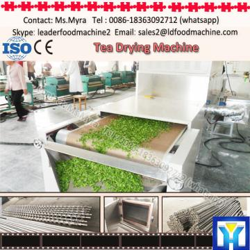 Low labor intensity and high efficient tea leaf drying machine