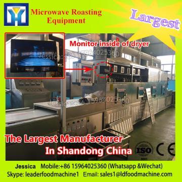 Yellow bud microwave drying sterilization equipment