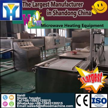 Microwave green tea production linetunnel dryer for fruit