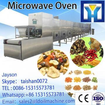 Industrial stainless steel black tea tunnel microwave beLD drying machine