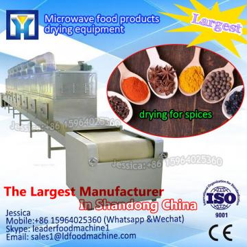 Tunnel microwave green tea leaf drying/ dehydration machine