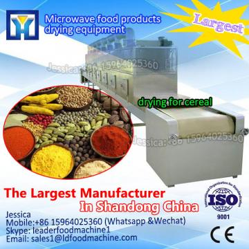 sesame seed drying machine factory direct sales of continuous microwave drying machine