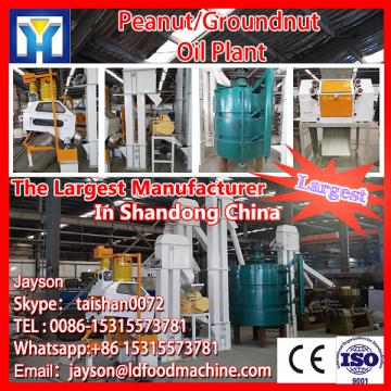 Continuous system crude rice bran oil refining plant with PLC control