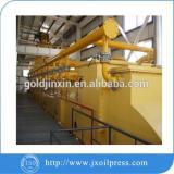 Expeller pressed castor oil/castor oil production plant