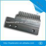 Hyundai escalator comb floor plate, escalator comb plate for Hyundai
