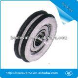 Good elevator door belt pulley lift elevator pulley wheel