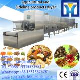Industrial microwave drying and roasting oven for peanuts