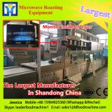 The sea eel microwave drying sterilization equipment