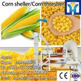 Sweet yellow corn threshing machine/ maize peeling and shelling equipment