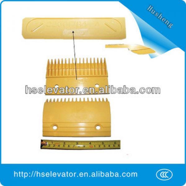 Hitachi Comb Plate 22501784-A escalator yellow strip #1 image