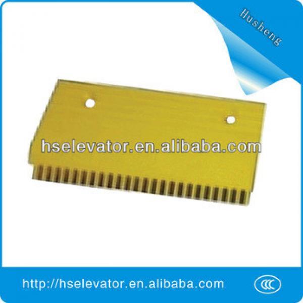 escalator comb plate, escalator yellow strip, escalator price #1 image