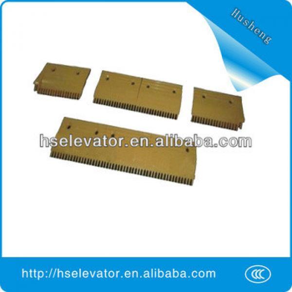 escalator comb plate middle, escalator comb plate escalator installation #1 image