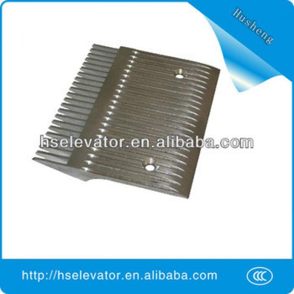 escalator comb floor plate, escalator comb plate #1 image