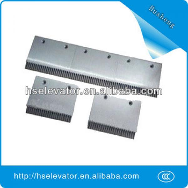 escalator comb floor plate, escalator comb plate, escalator comb price #1 image