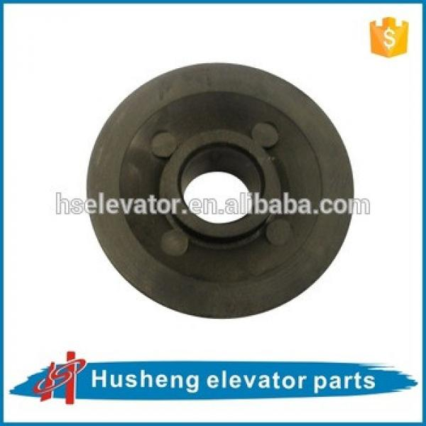 Kone elevator motor pulley nylon KM967848, Elevator door belt pulley #1 image