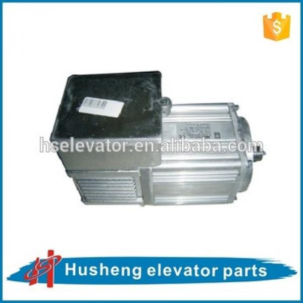 Thyssen elevator motor, thyssen elevator gearless motor, traction motor for elevator #1 image