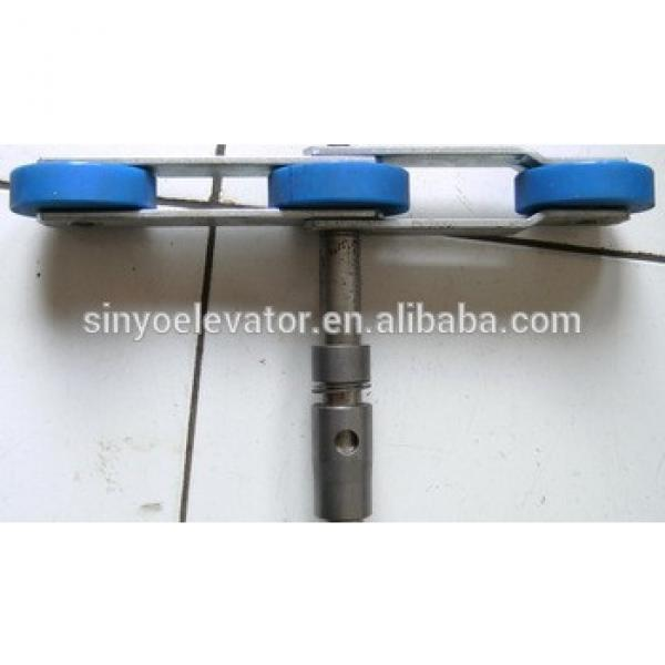 escalator 506NCE step chain:Chain for 506 Pitch Line:135.47 OD Of Roller:OD76.2 #1 image