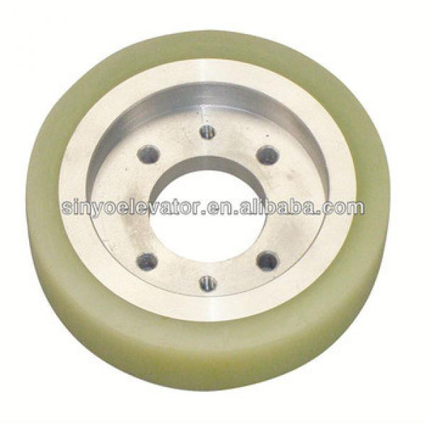 hyundai elevator parts:Driving Pulley 135*34 ID:44.8 #1 image