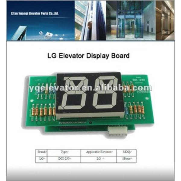 lg elevator parts DCI-230 elevator display board, parts of elevator #1 image