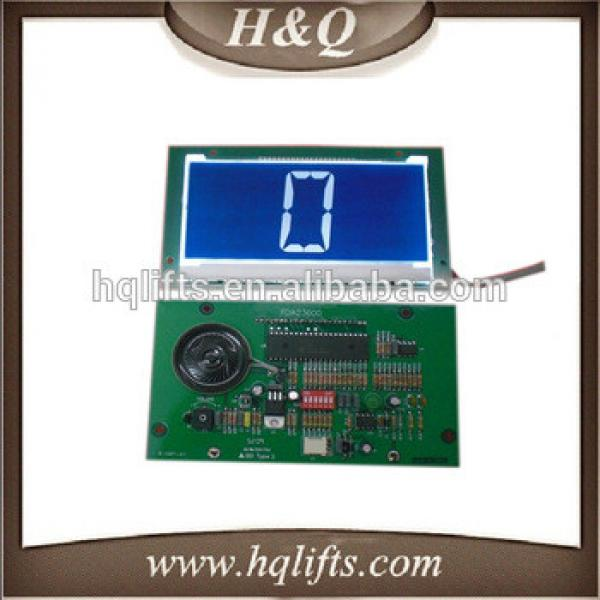 High quality elevator LCD display board PDA23600 ,elevator spare parts #1 image