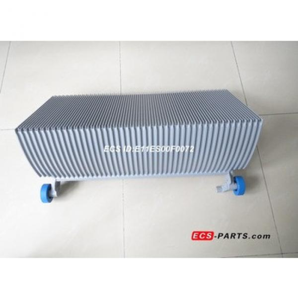 Replacement escalator step for schindler 800mm grey with roller 76*25 #1 image