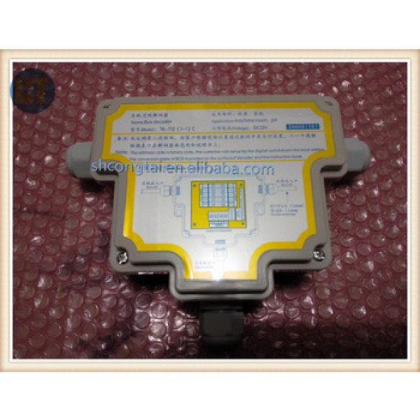 elevator parts TK-T12(1-1)C bus decoder for machine room and pit /elevator intercom system #1 image