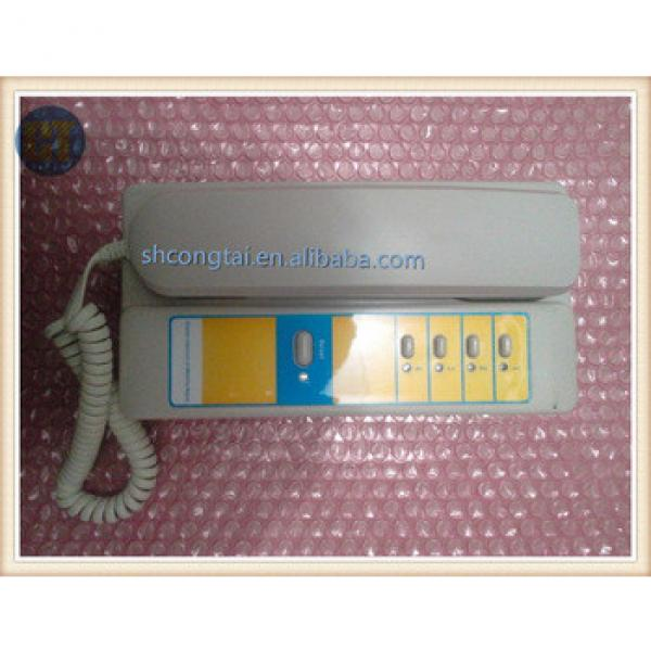 Elevator Intercom System Interphone TK-T12(1-1)4A in Duty/Monitoring Room #1 image