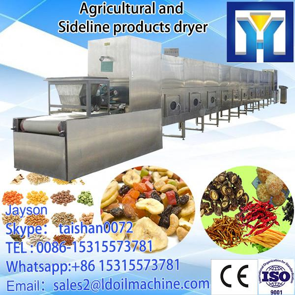 tunnel continuous conveyor belt type industrial microwave oven for drying and sterilizing cocoa powder #4 image