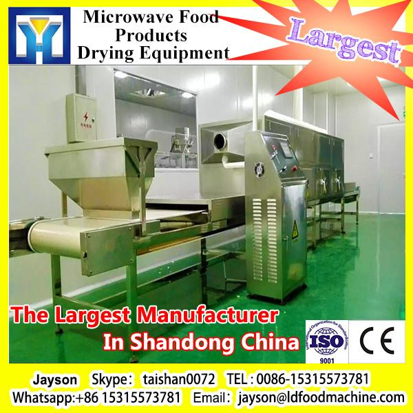 tunnel type micorwave drying equipment for potato slice #1 image